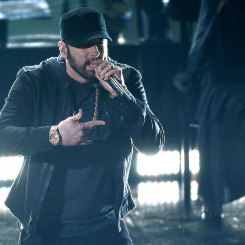 Eminem неожиданно выступил на церемонии «Оскар»