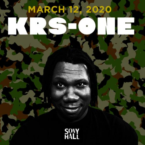 KRS-One — Live In Concert (12.03.2020)