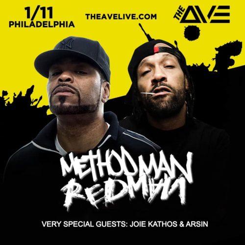 Method Man & Redman — живое выступление в Филадельфии (клуб The Ave)