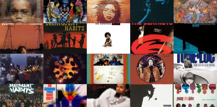 20 хип-хоп обложек за основу которых были взяты обложки из альбомов других жанров