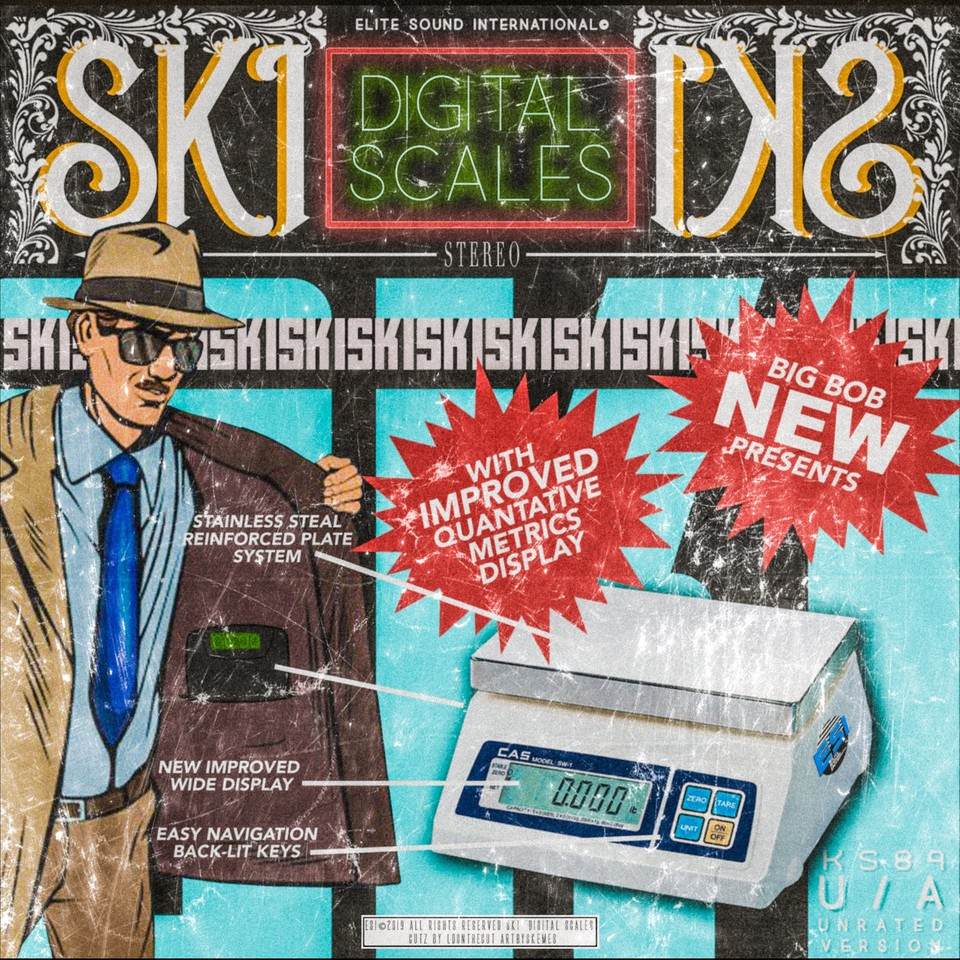 BigBob — «Digital Scales» (feat. Ski)