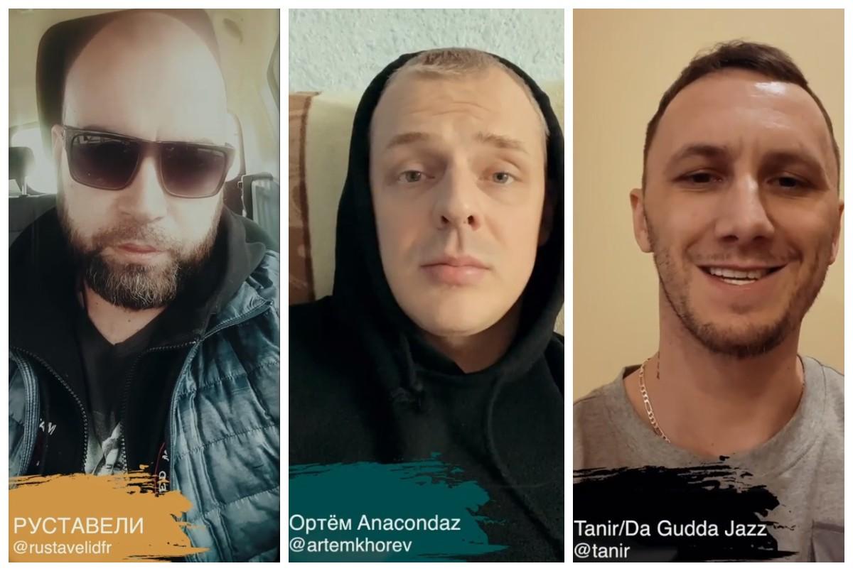 «Посредник Show»: Руставели, Артем Хорев (Anacondaz) и Tanir (Da Gudda Jazz)