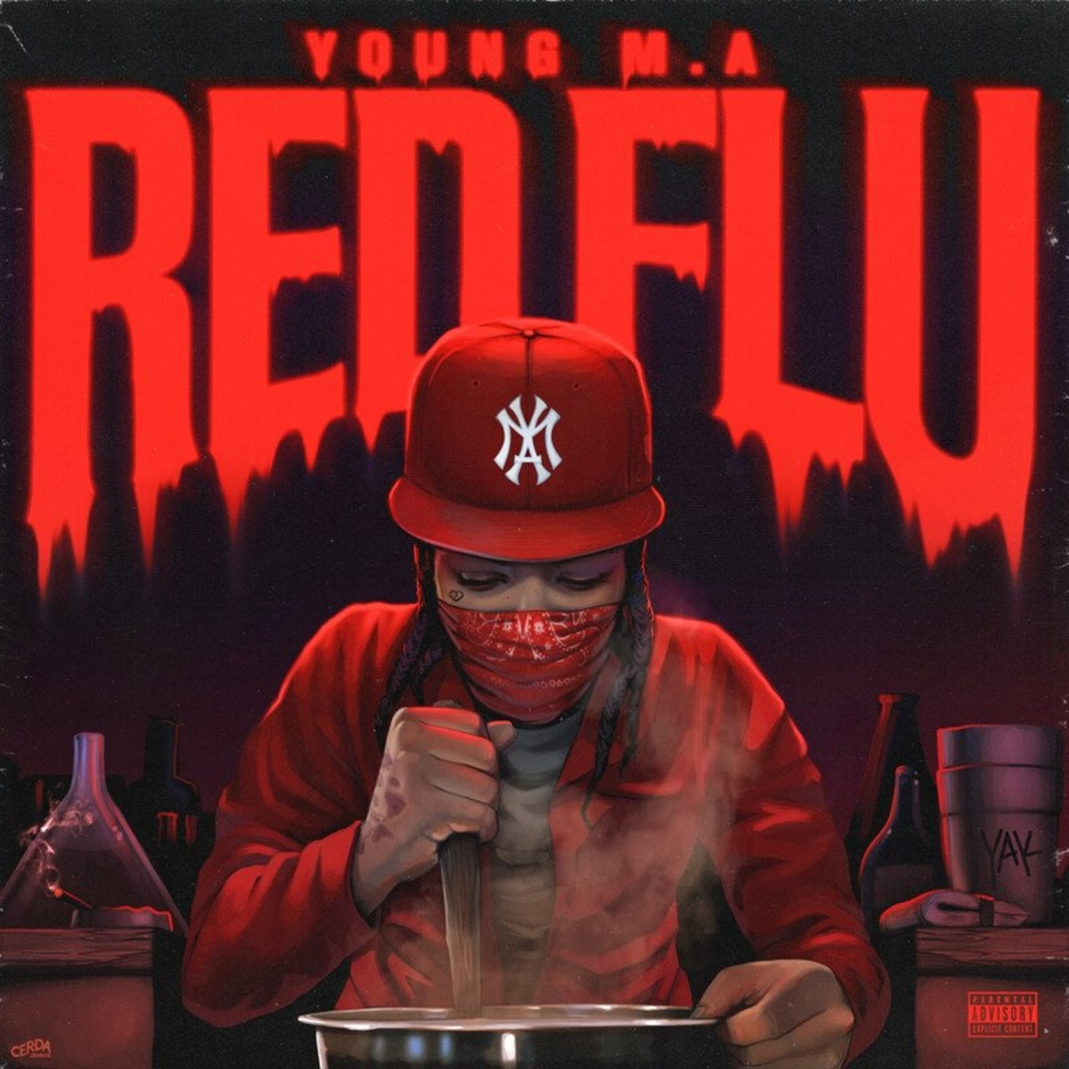 Young M.A — «Red Flu»