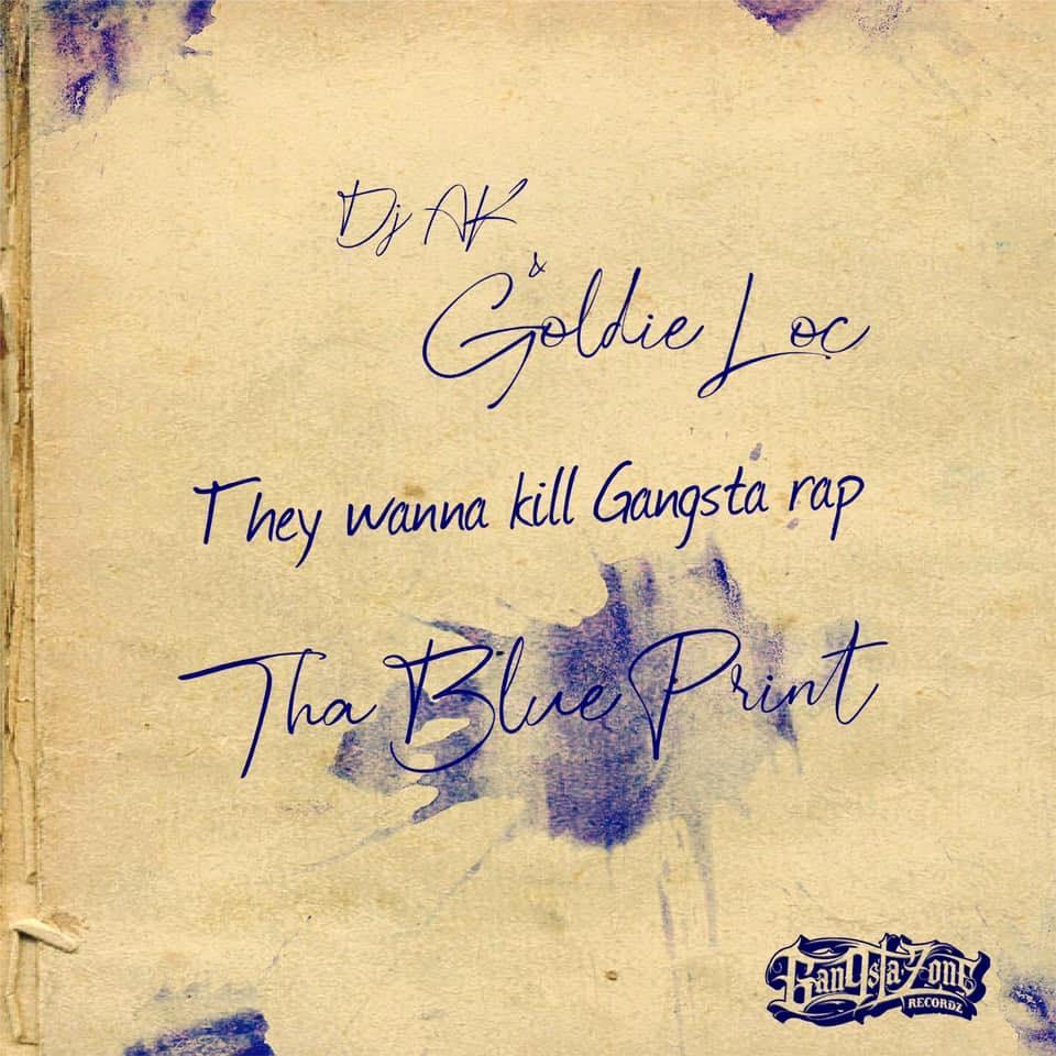 DJ AK — «They Wanna Kill Gangsta Rap!» (feat. Goldie Loc)