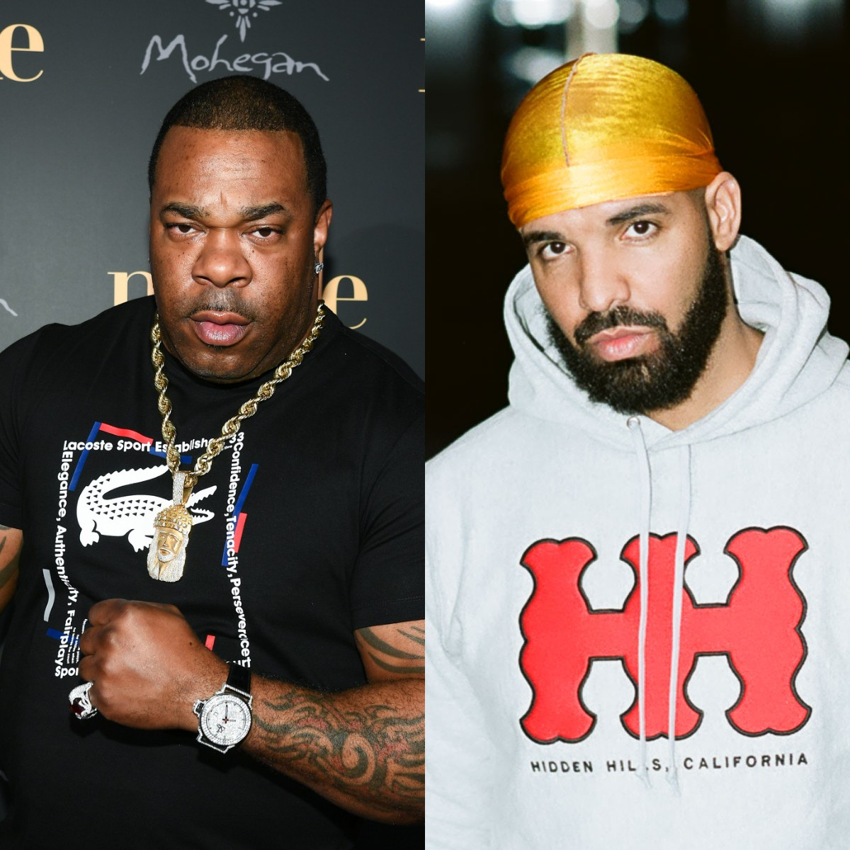 Busta Rhymes — «Stay Down» (feat. Drake) [prod. J Dilla]