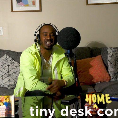 Benny The Butcher провел домашний в рамках проекта Tiny Desk Concert