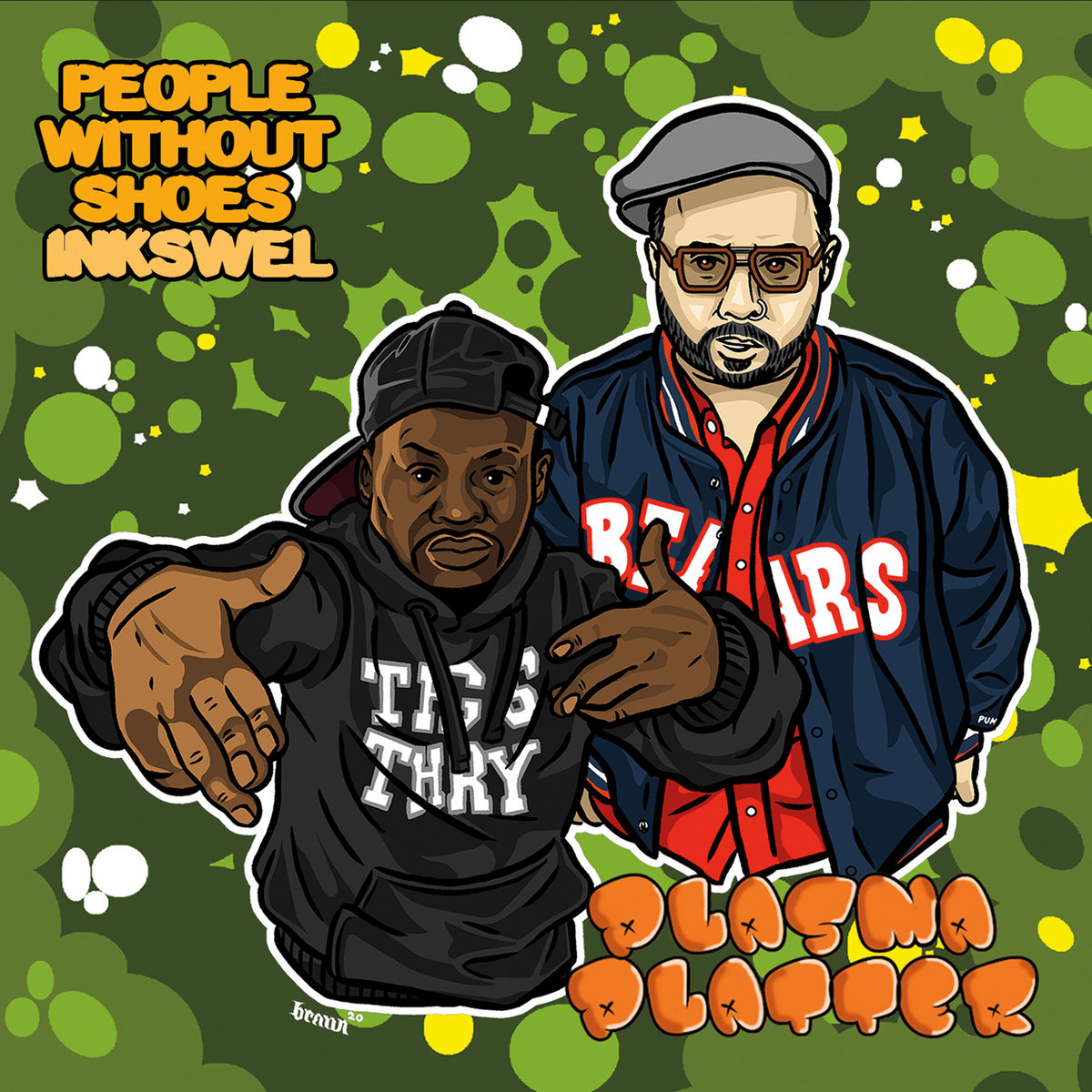 People Without Shoes & Inkswel — «Plasma Platter»