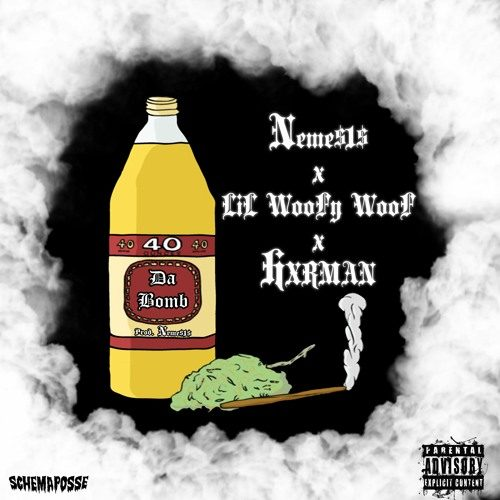 LiL WooFy WooF — «Da Bomb» (feat. Hxrman & NEME$1$)