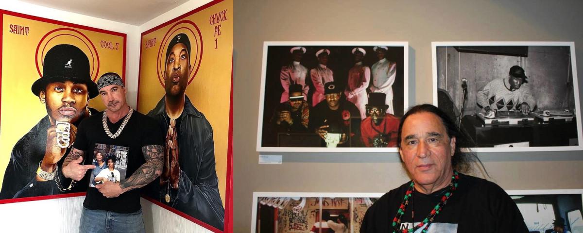 Автор серии работ «святые хип-хопа» Kyle T. Moser начал сотрудничество с хип-хоп фотографом Ernie Paniccioli