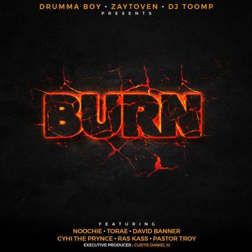 Ras Kass — «Burn» (Feat. CyHi The Prynce, Torae, Pastor Troy, David Banner & Noochie)