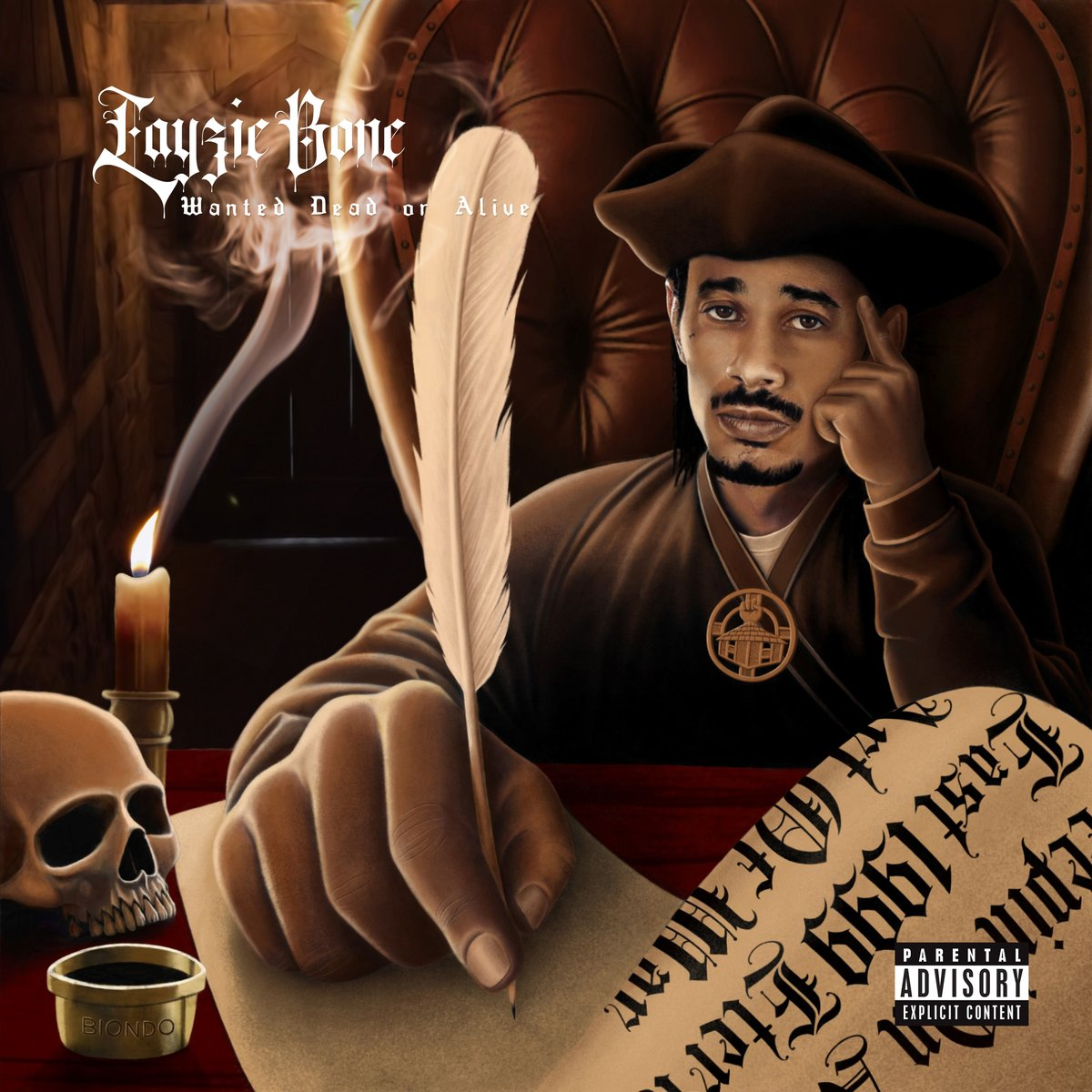 Layzie Bone — «Wanted Dead or Alive»