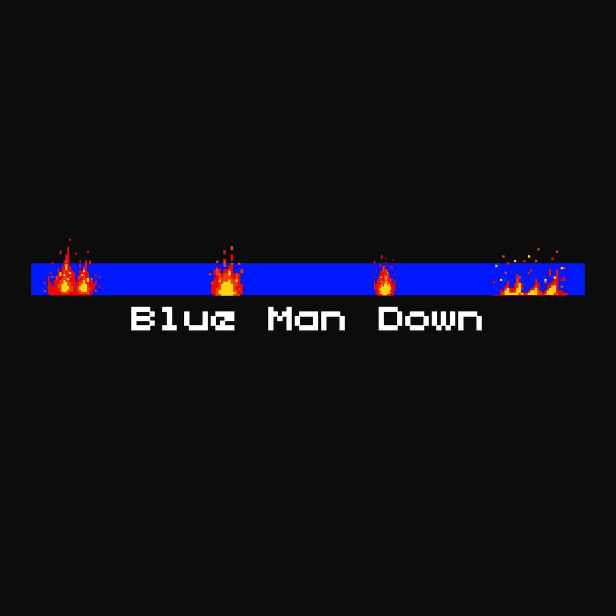 XL Middleton — «Blue Man Down» (feat. I, Ced, Moniquea & Zackey Force Funk)