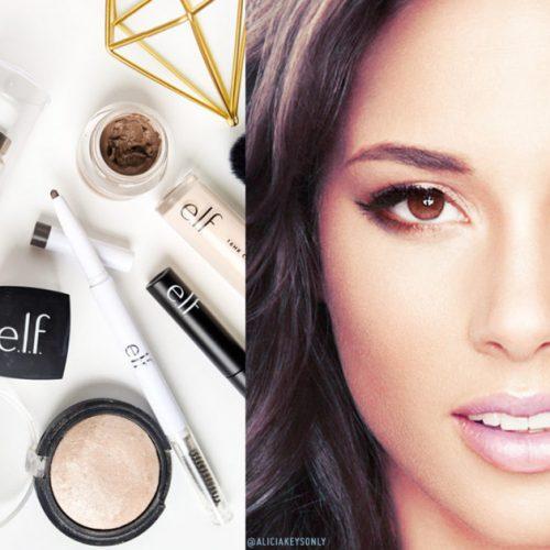 Alicia Keys начала сотрудничество с брендом e.l.f.