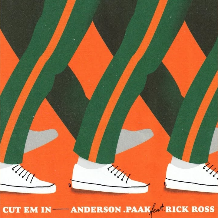 Anderson .Paak — «CUT 'EM IN» (Feat. Rick Ross)