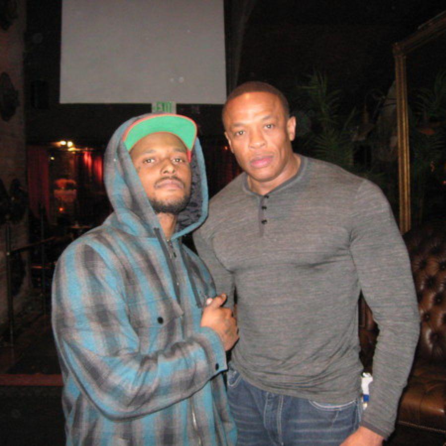Dr. Dre — «Music 2 Driveby» (feat. ScHoolboy Q, Candice Pillay & Dem Jointz)