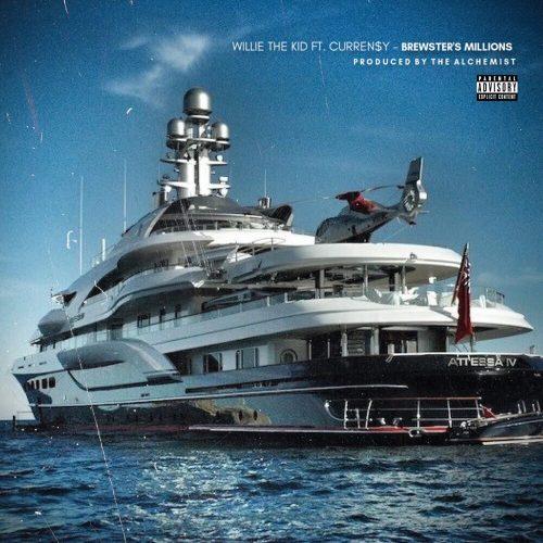 Willie The Kid — «Brewster's Millions» (feat. Curren$y & The Alchemist)