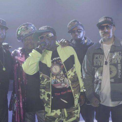 Public Enemy, B-Real и George Clinton выступили на шоу Стивена Кольбера