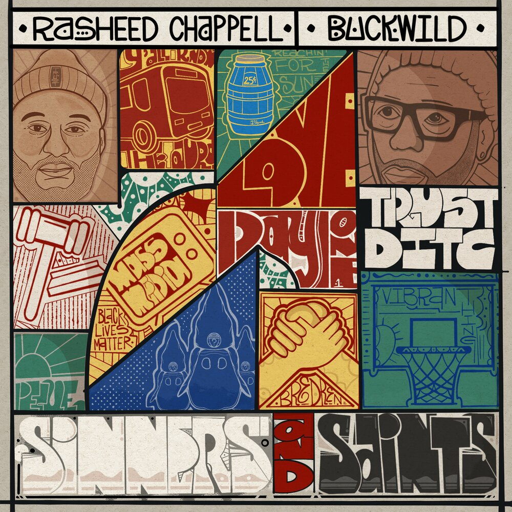 Rasheed Chappell & Buckwild — «Sinners and Saints»