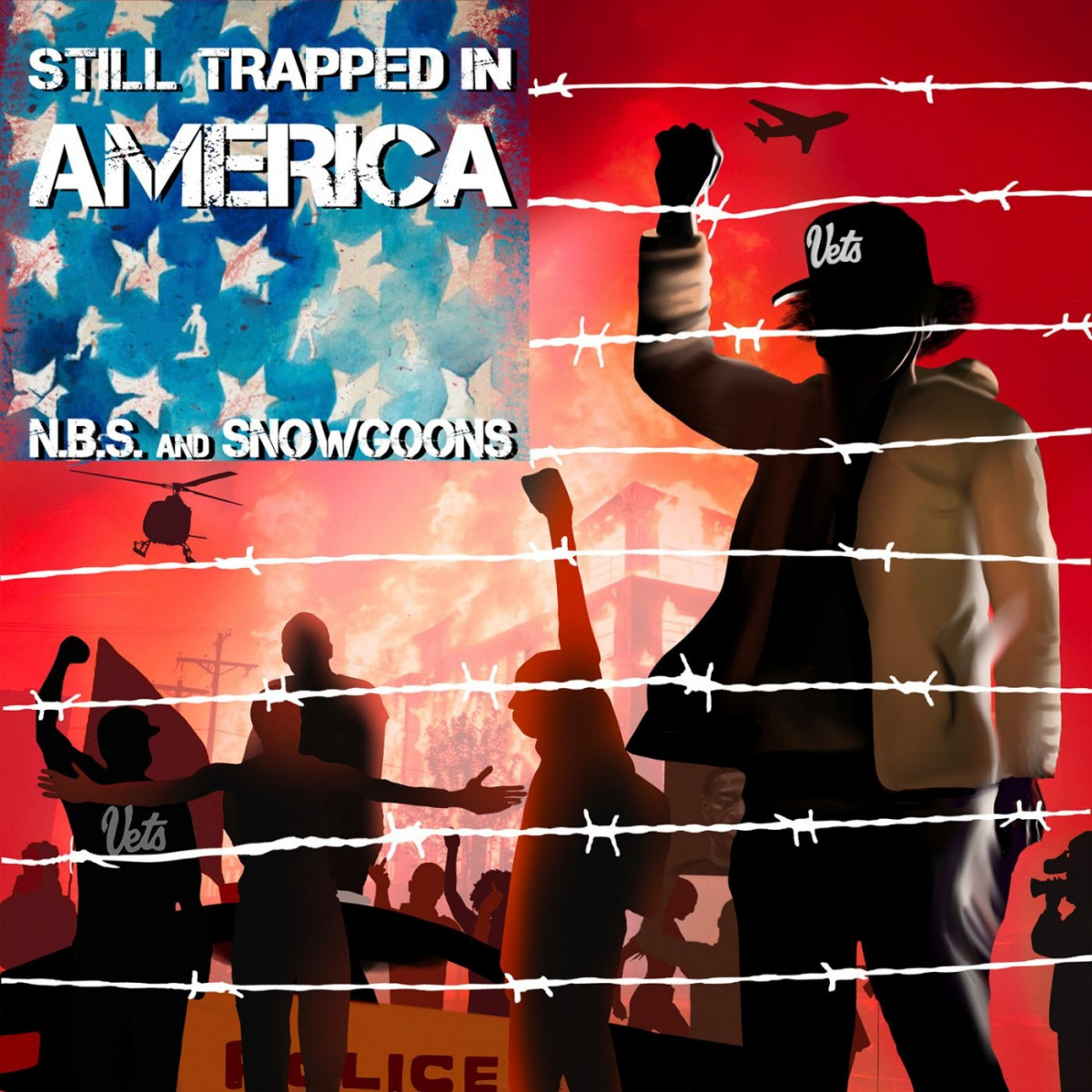 N.B.S. & Snowgoons — «Still Trapped In America»