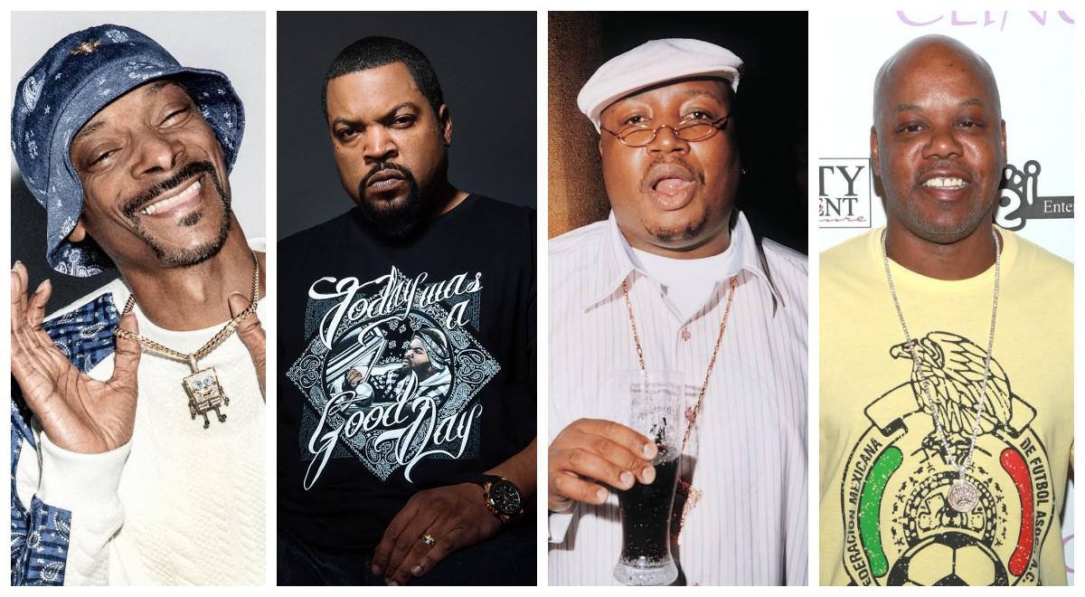 Snoop Dogg, Ice Cube, E-40 и Too $hort собрались в супергруппу и уже готовят совместный релиз