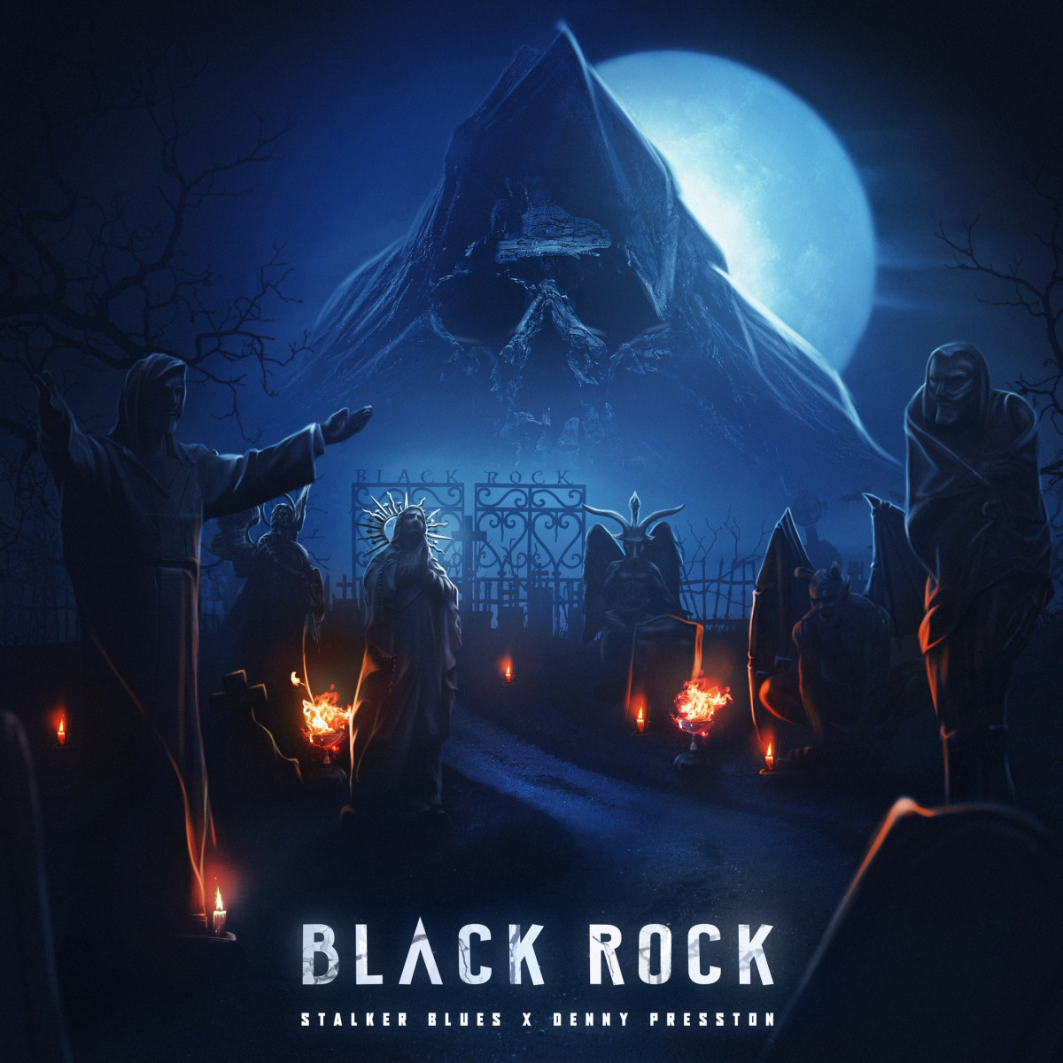 Stalker Blues & Denny Presston — «Black Rock»