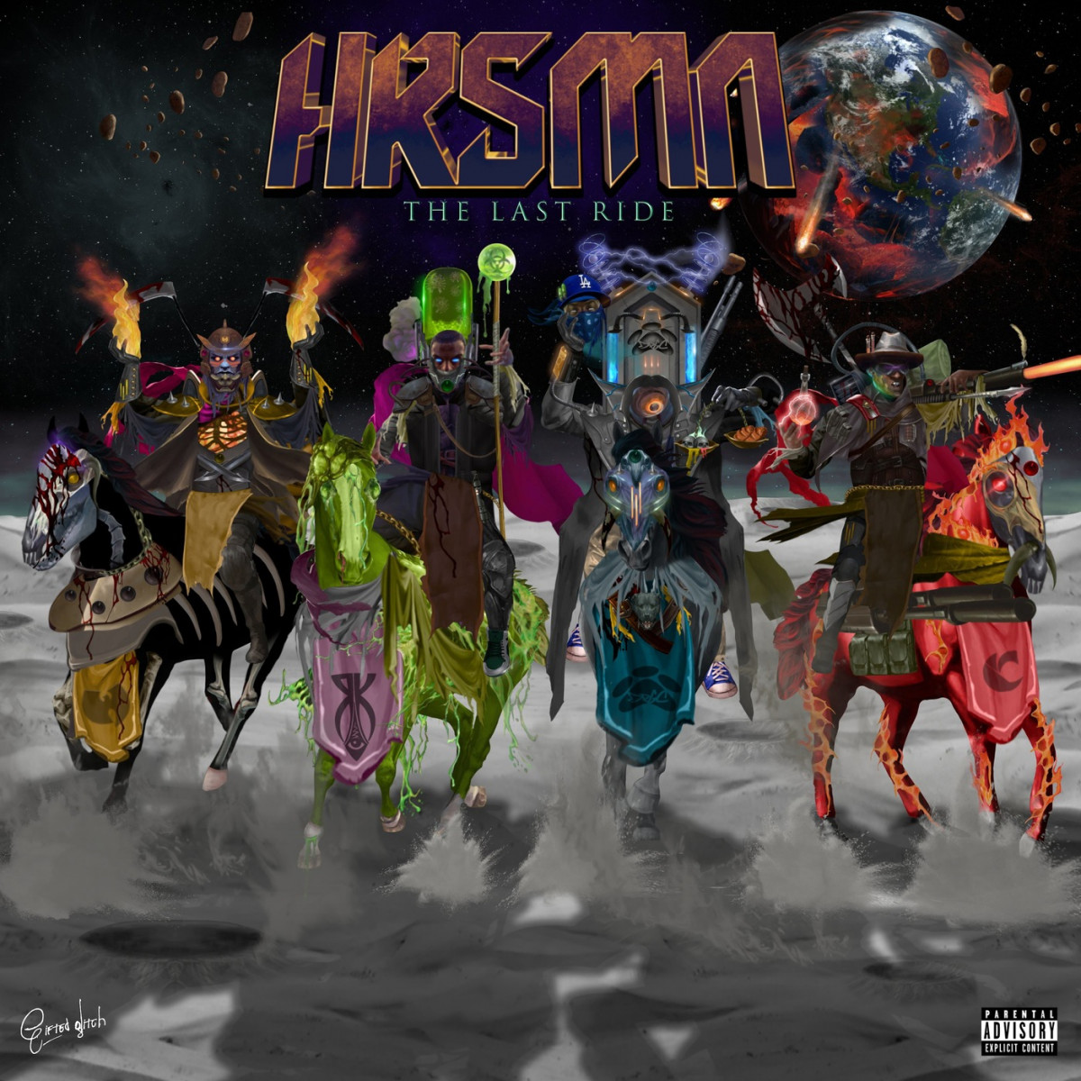 HRSMN (Canibus, Kurupt, Killah Priest & Ras Kass) — «The Last Ride»